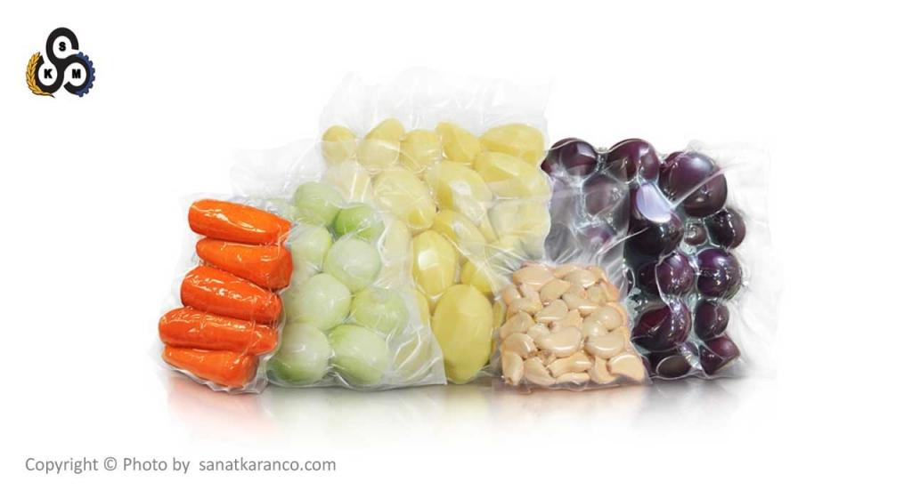بسته بندی سبزی وکیوم