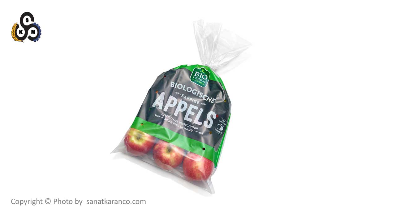 بسته بندی میوه در کیسه