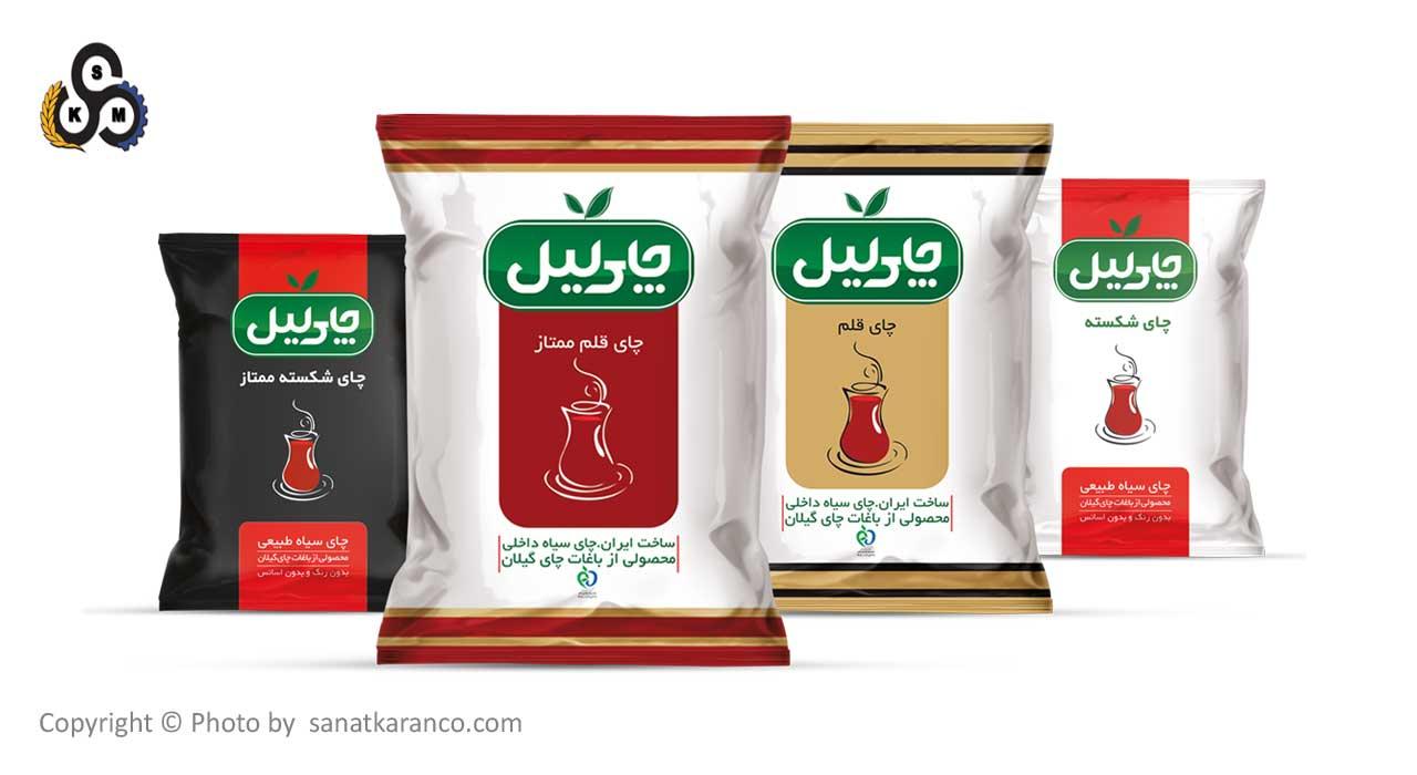 بسته بندی چای سلفونی