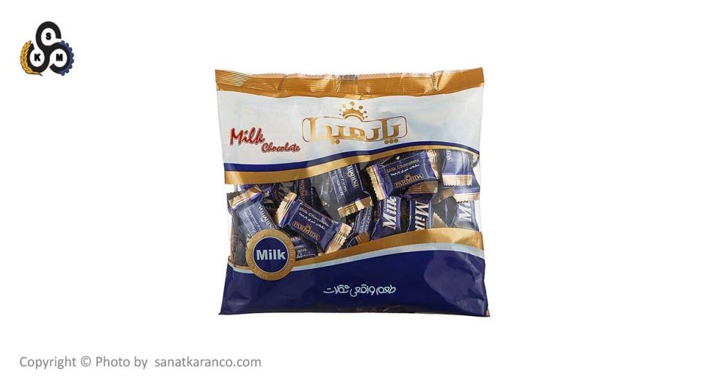 بسته بندی شکلات سلفونی